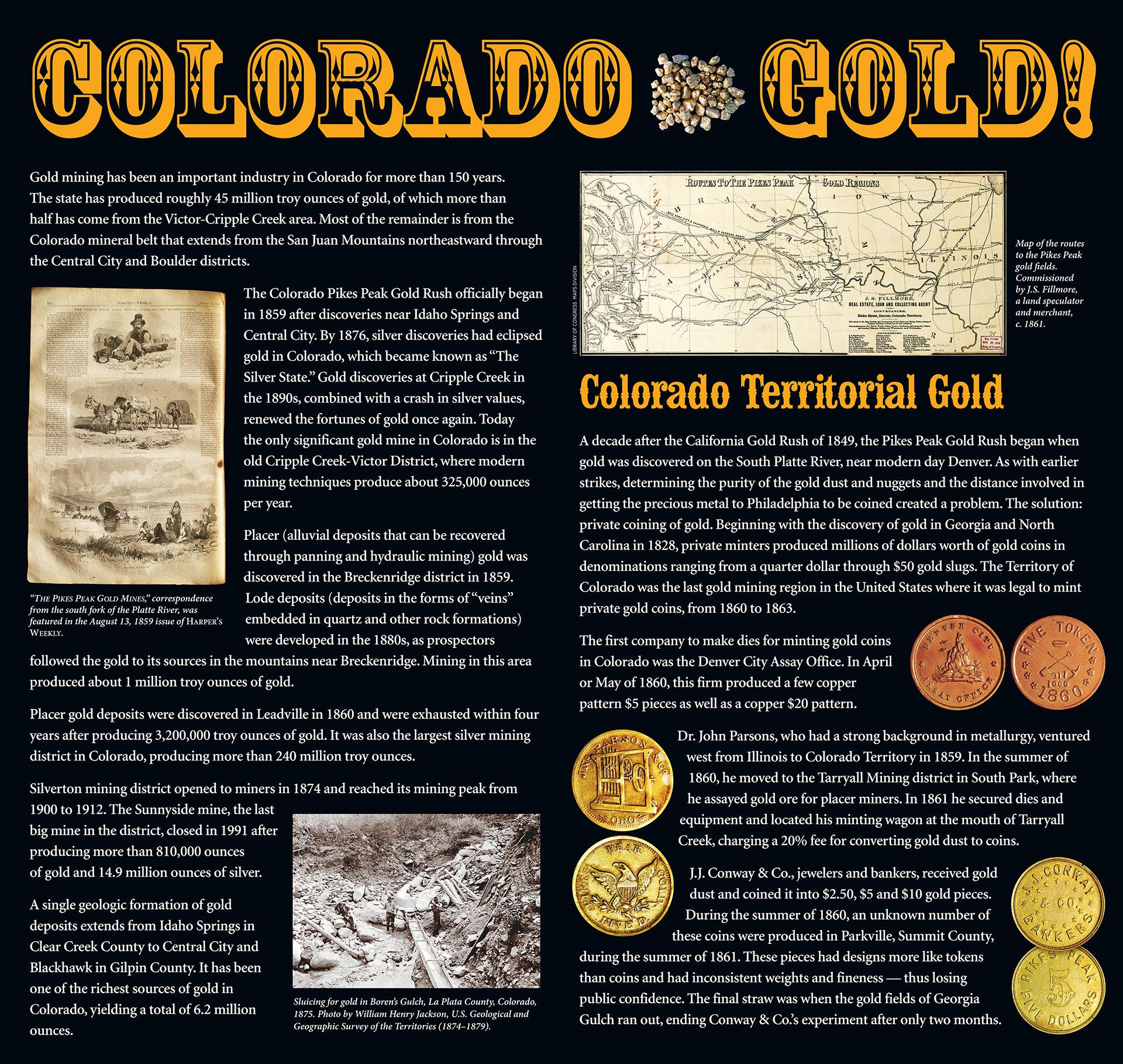 Colorado Gold Virtual Exhibit