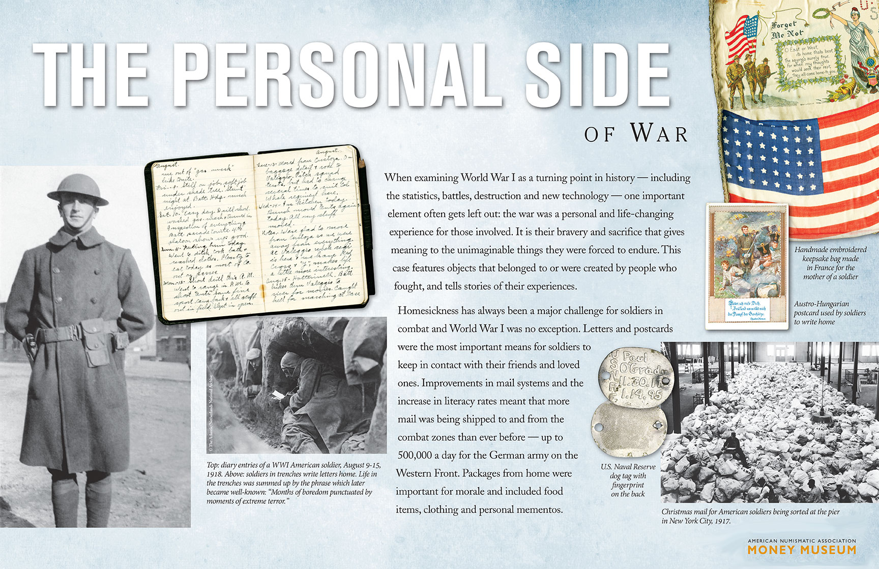 World War I Virtual Museum Exhibit: The Personal Side of War